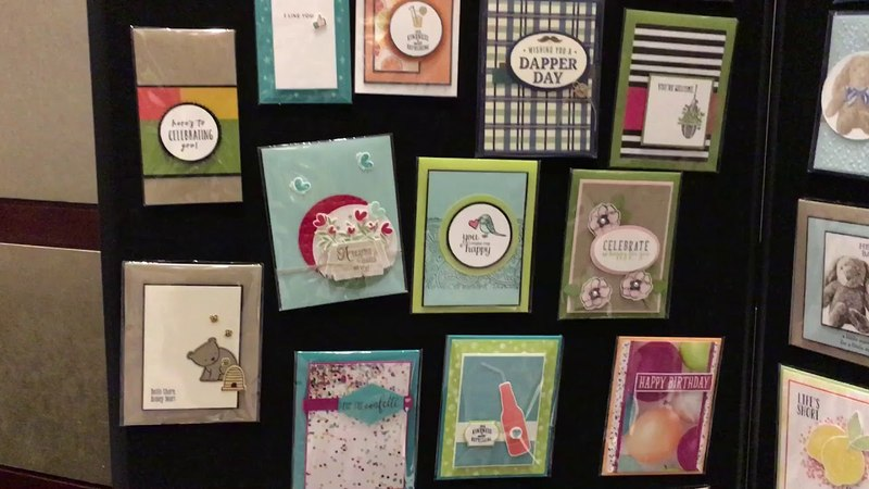 Stampin' Up Swap Boards - Pre OnStage Event