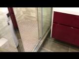 Видео обзор одной из моих работ,  раздельный санузел 17.01.18