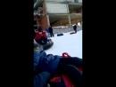 Денюха на горнолыжке