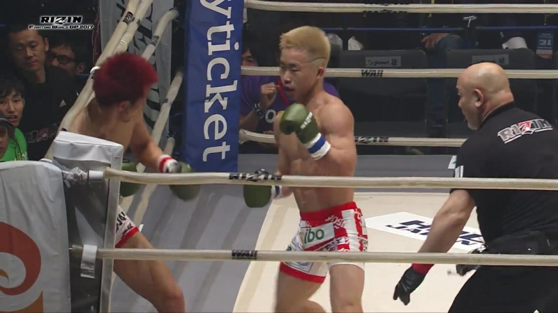 Mitsuhisa Sunabe vs. Yamato Fujita KO [31.12.2017 RIZIN Fighting World Grand Prix 2017]