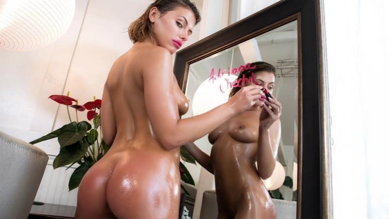 Adriana Chechik ( Making Her Drip, 2018 г. , Anal, Ass Worship, Brunette, Blowjob (