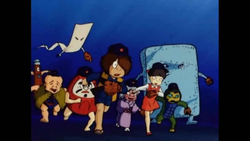 Gegege no kitarou (1985) Серия 26 (Англ субтитры)