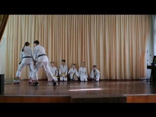 Айкидо на Физкульт-УРА (школа 35, Донецк)
