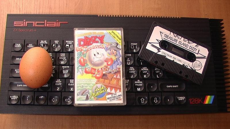 Диззи 2 остров сокровищ ZX Spectrum Treasure island Dizzy