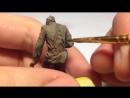 Как покрасить фигурку темперой Часть 3 Тонирование