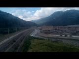 Подъем на высоту 960 метров над уровнем моря по канатной дороге