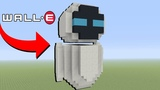 Minecraft How To Make Eve from WALL-E