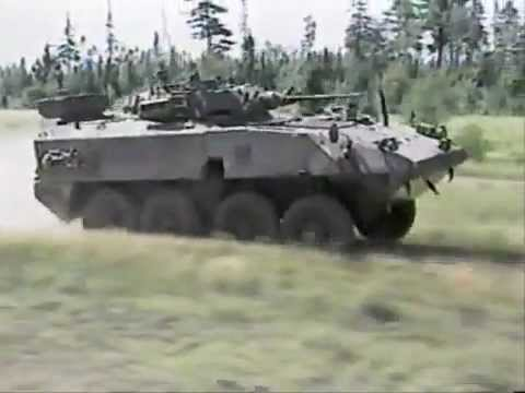 Canadian LAV 1 2 3 Mobility Test