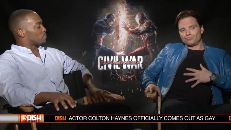 Интервью для Dish Nation в рамках промоушена фильма Первый мститель Противостояние 2016 смотреть онлайн без регистрации