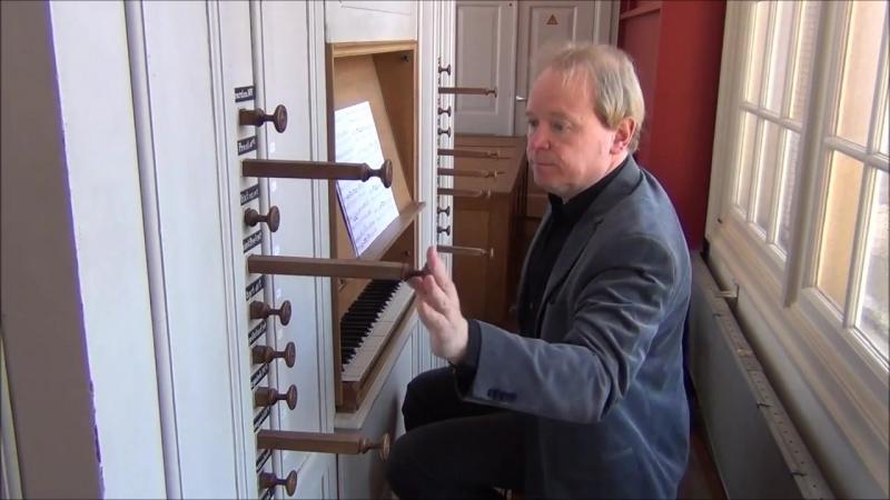 643 813 852 853 J. S. Bach - Organ concert BWV 643 852 813 853 - Arjen Leistra, organ