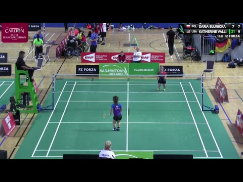 FZ Forza Irish Para-Badminton International 2018 - Day 3 - Court 4
