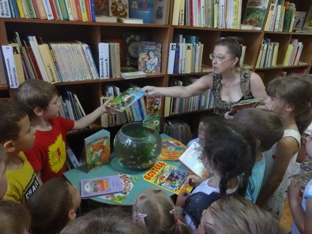 донецкая республиканская библиотека для детей, отдел обслуживания дошкольников и учащихся 1-4 классов, занятия с малышами