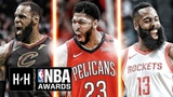 VERY Best Highlights of LeBron James, James Harden &amp Anthony Davis From the 2017-18 NBA Season!
