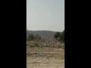 Предположительный обстрел протурецких сил ополченцами шиитами под Африном