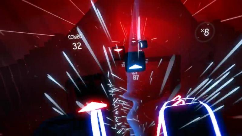 Beat Saber – Jedi dubstep