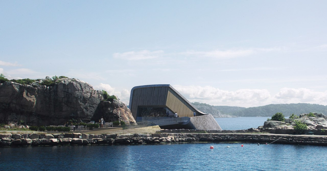 Snøhetta / ресторан в Норвегии