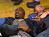 Gridlockd wrapped filming. Heres a behind the scenes footage with Tupac and Tim Roth clowning on set