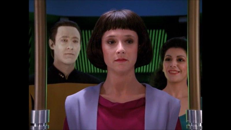 Data creates an offspring - Star Trek the Next Generation