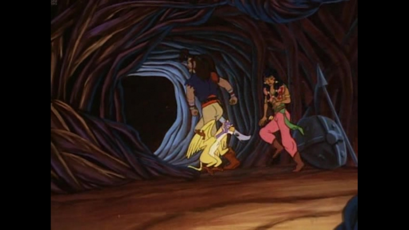 Пираты тёмной воды: Сказание начинается / Pirates of Dark Water: The Saga Begins. 1991. Перевод Марченко. VHS