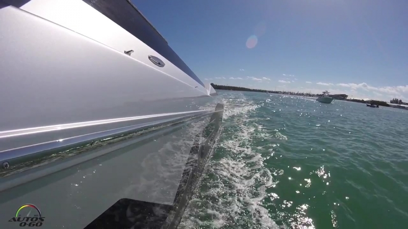 Cigarette Racing 515 Project ONE Test Ride with Magnus Walker at the Miami Boat Show