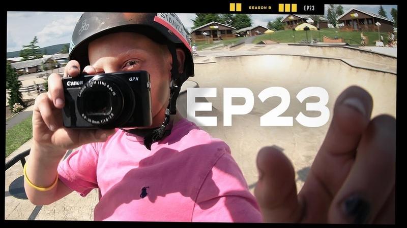 Chris Chann's Son EP23 Camp Woodward Season 9