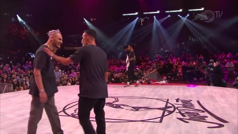 Juste Debout Hip Hop Final 2017 Majid Ukay VS Stylez C Diablo
