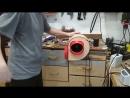 Улиточный вентилятор на основе крыльчатки от ваз 2110