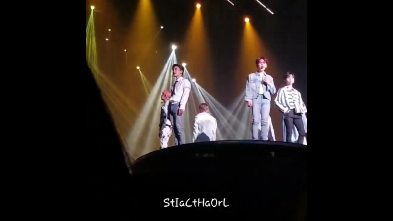 [VK][180526] MONSTA X fancam - In Time @ The 2nd World Tour The Connect in Seoul D-1