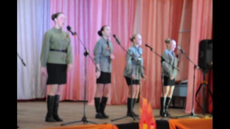 Вокальная группа Карнавал с песней Смуглянка-молдаванка