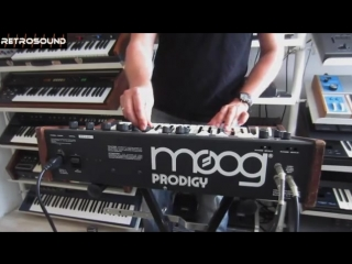 Moog Prodigy Vintage Analog Synthesizer 'Model 336BX' (1979)