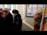 Доставка Владимира Шипицына в отдел полиции