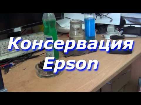 Консервация Epson