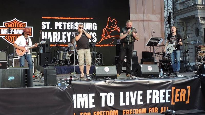 Игорь Марон 148 band 03/08/18 Harley Days 2018 St.Petersburg