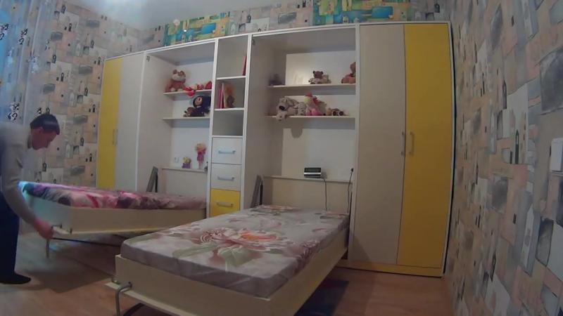 Мебель-трансформер. Шкаф-кровать в детскую