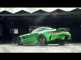 Raising green hell in dj skee's amg gt r around beverly hills
