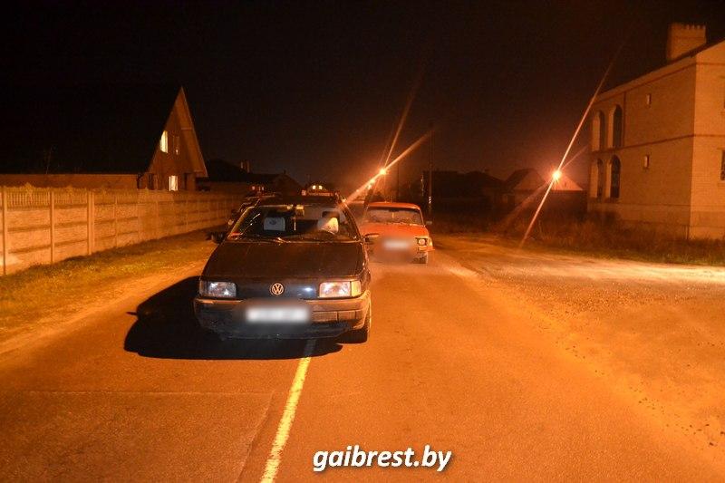 Брестский район: под колесами иномарки пострадал пешеход
