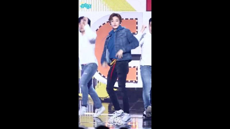 예능연구소 직캠 엠씨 스페셜 스테이지 마크 Focused @쇼 음악중심 20180224 3MC Special stage MARK