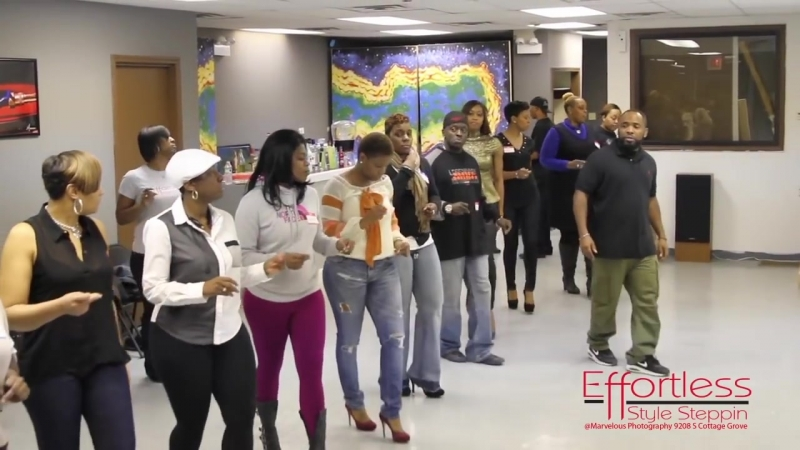 Let Us Show You How . Chicago Style Stepping . Effortless Steps