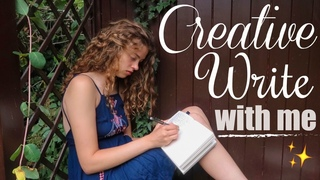 Real Time Creative Write With Me 🌞 (with summer ambience)