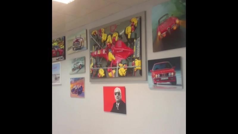 Ferrari в музее Formula 1 в Сочи