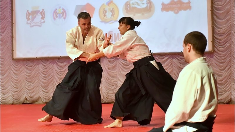 Vincenzo Schiavone - Demonstration Of Aikido Festival Novosibirsk, Russia 2018