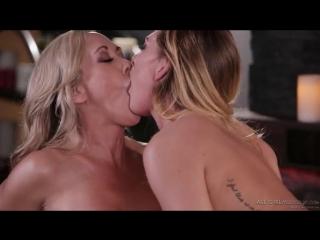 Carter Cruise, Brandi Love - Big Ass MILF Teen Big Tits Lesbian Blonde 2017 HD