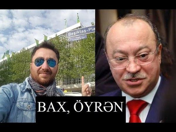 Tural Sadıqlı Kəmaləddin Heydərova dərs keçdi
