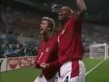 ЧМ 2002. Дэвид Бекхэм - гол с пенальти в ворота сборной Аргентины