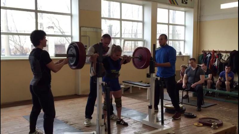 Ксения Торопушина 150 кг