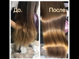 Бесплатная процедура Ботокс волос (максимальная длина до конца лопаток) от группы