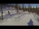 8. GSXR 1000 на гусянке, снегоходам остается только смотреть