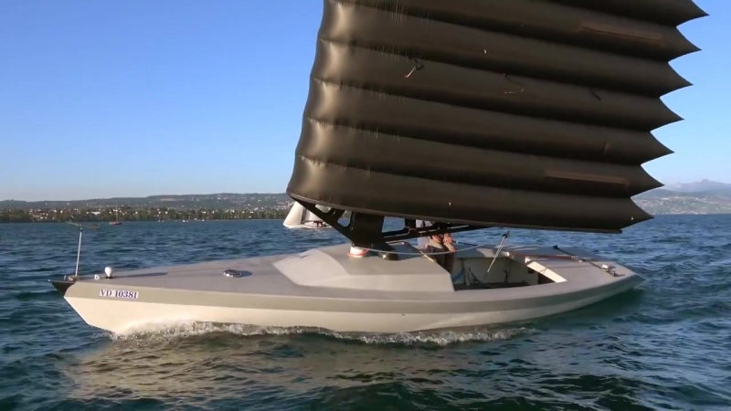 An interesting boat, showcased in this... - Mirabaud Sailing Video Award