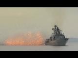 Учения кораблей ТОФ в Японском море