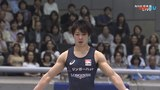 Kohei Uchimura Floor NHK 2018